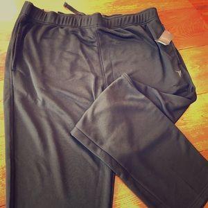 Other - Men's XL Black lightweight fleece pants. NWT New